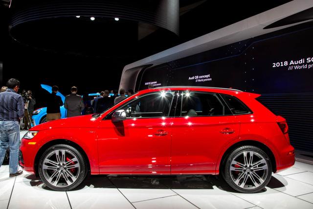 Mục sở thị thiết kế của SUV hạng sang Audi SQ5 2018 - Ảnh 9.