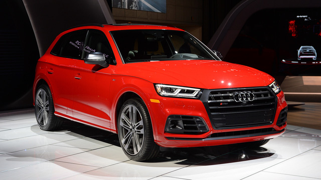 Mục sở thị thiết kế của SUV hạng sang Audi SQ5 2018 - Ảnh 11.