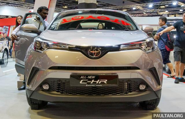 Crossover cỡ nhỏ Toyota C-HR ra mắt Đông Nam Á - Ảnh 1.