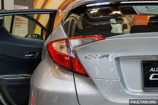 Crossover cỡ nhỏ Toyota C-HR ra mắt Đông Nam Á - Ảnh 5.