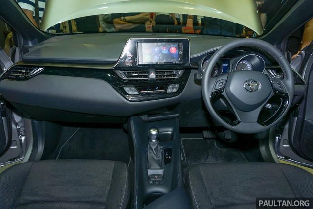 Crossover cỡ nhỏ Toyota C-HR ra mắt Đông Nam Á - Ảnh 6.