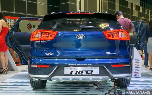 Xe crossover siêu tiết kiệm xăng Kia Niro ra mắt Đông Nam Á - Ảnh 5.