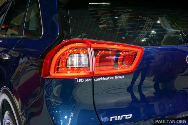 Xe crossover siêu tiết kiệm xăng Kia Niro ra mắt Đông Nam Á - Ảnh 8.