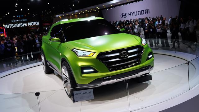 Hyundai Creta phiên bản bán tải sẽ ra mắt vào năm 2018 - Ảnh 1.