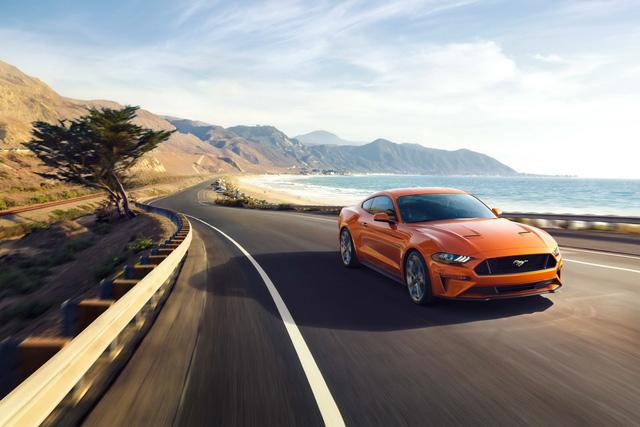Ford Mustang 2018 chính thức trình làng với thiết kế và trang bị mới - Ảnh 1.