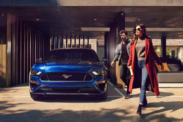 Ford Mustang 2018 chính thức trình làng với thiết kế và trang bị mới - Ảnh 2.