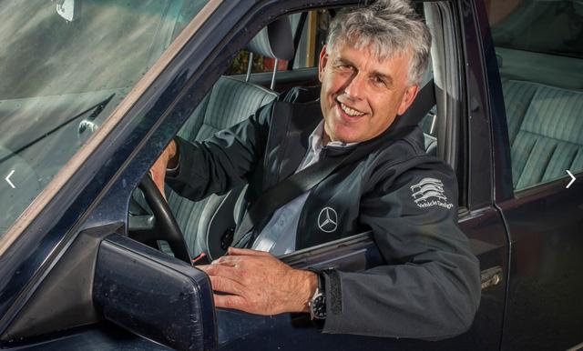 Làm quen với chiếc Mercedes-Benz E-Class chạy nhiều như taxi - Ảnh 1.