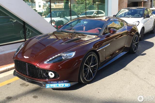 Chạm mặt tuyệt phẩm Aston Martin Vanquish Zagato tại thiên đường siêu xe - Ảnh 5.