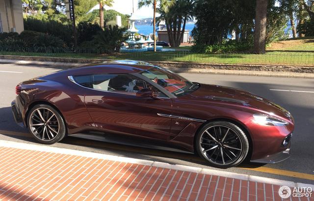 Chạm mặt tuyệt phẩm Aston Martin Vanquish Zagato tại thiên đường siêu xe - Ảnh 9.