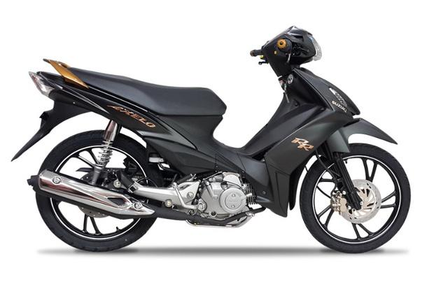 Xe côn tay Suzuki Axelo 125RR tại Việt Nam có thêm màu đen mờ hầm hố - Ảnh 1.