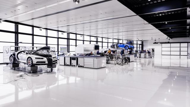 Khám phá nơi những chiếc siêu xe triệu đô Bugatti Chiron ra lò - Ảnh 5.