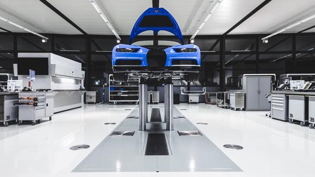 Khám phá nơi những chiếc siêu xe triệu đô Bugatti Chiron ra lò - Ảnh 7.