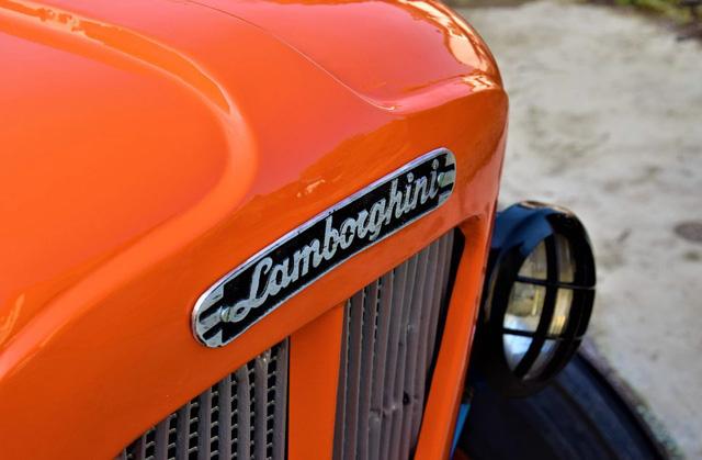 Rao bán máy kéo Lamborghini cực hiếm - Ảnh 5.