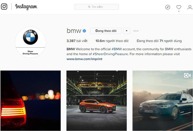 10 hãng xe có lượng người theo dõi khủng nhất trên Instagram - Ảnh 1.