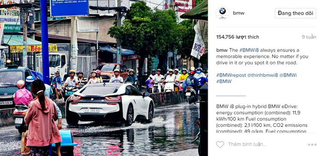 10 hãng xe có lượng người theo dõi khủng nhất trên Instagram - Ảnh 3.