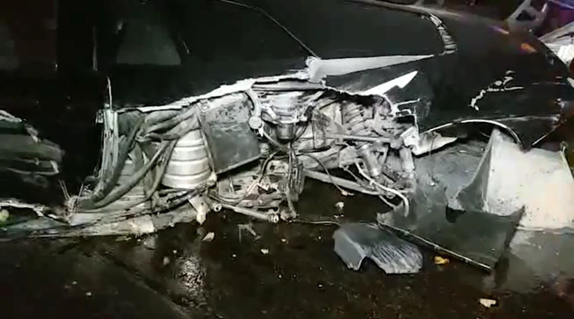Lại thêm siêu xe Lamborghini Murcielago SV gây tai nạn kinh hoàng - Ảnh 4.