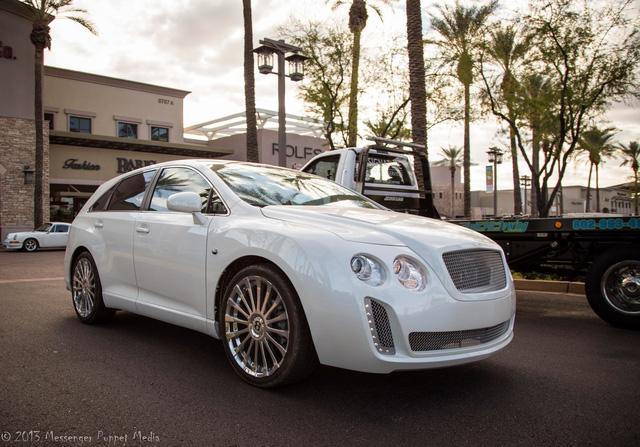 Fan cuồng của Bentley biến Toyota Venza thành Bentayga - Ảnh 1.