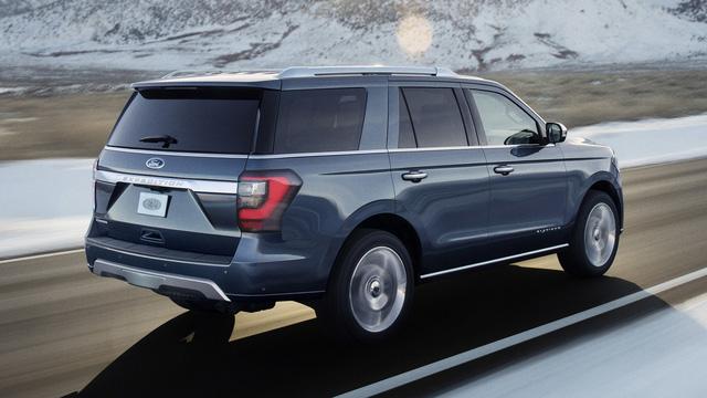 Hé lộ thông số động cơ của SUV 8 chỗ Ford Expedition 2018 - Ảnh 2.