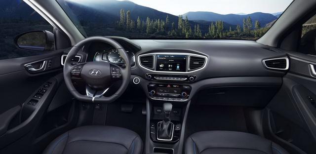 Xe 3 trong 1 Hyundai Ioniq cạnh tranh với Toyota Prius bằng giá 22.200 USD - Ảnh 8.