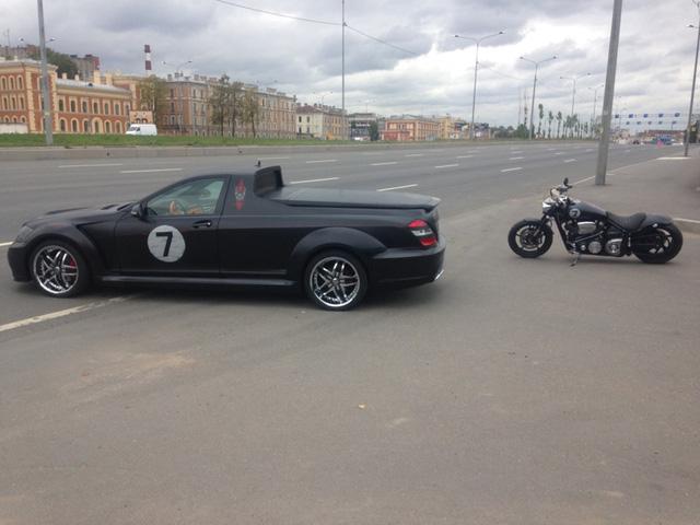 Không thể chờ X-Class ra mắt, biker biến Mercedes-Benz S-Class thành xe bán tải - Ảnh 6.