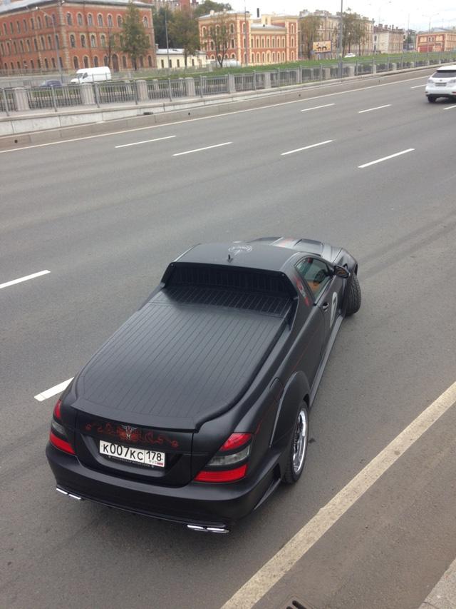 Không thể chờ X-Class ra mắt, biker biến Mercedes-Benz S-Class thành xe bán tải - Ảnh 7.