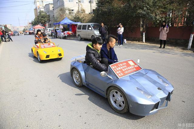 Tự chế dàn xe Lamborghini để đưa cháu đi học cho oách - Ảnh 3.