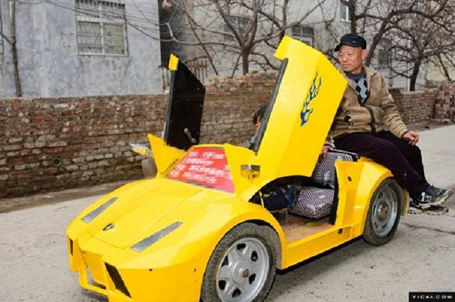 Tự chế dàn xe Lamborghini để đưa cháu đi học cho oách - Ảnh 9.