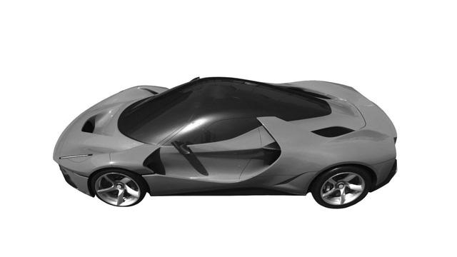 Chiếc siêu xe Ferrari bí ẩn khiến cả thế giới phải tò mò - Ảnh 5.