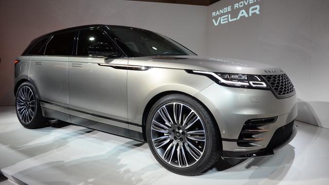 Ngắm Range Rover Velar bằng xương, bằng thịt, cạnh tranh Porsche Macan - Ảnh 3.