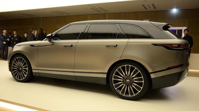 Ngắm Range Rover Velar bằng xương, bằng thịt, cạnh tranh Porsche Macan - Ảnh 5.