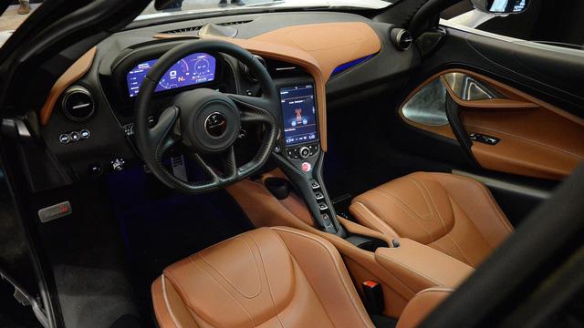 Siêu xe McLaren 720S hiện nguyên hình, giá từ 5,8 tỷ Đồng - Ảnh 15.