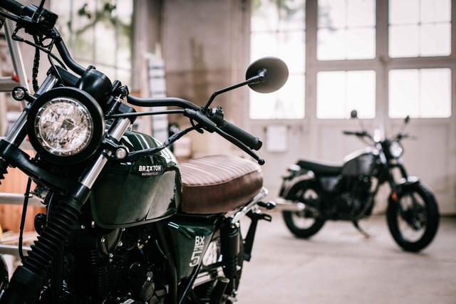 Rộ tin đồn mô tô đậm chất cổ điển Brixton BX 125 sắp được bán tại Việt Nam - Ảnh 5.