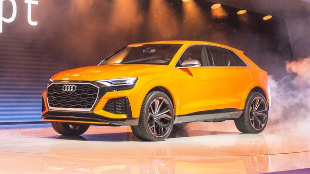 Audi Q8 sport - SUV hạng sang cỡ lớn đậm chất thể thao - Ảnh 4.
