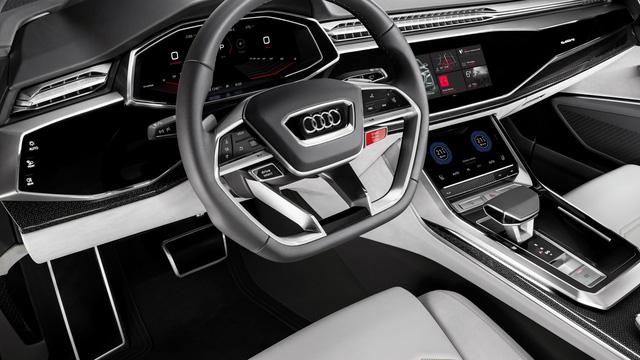 Audi Q8 sport - SUV hạng sang cỡ lớn đậm chất thể thao - Ảnh 9.