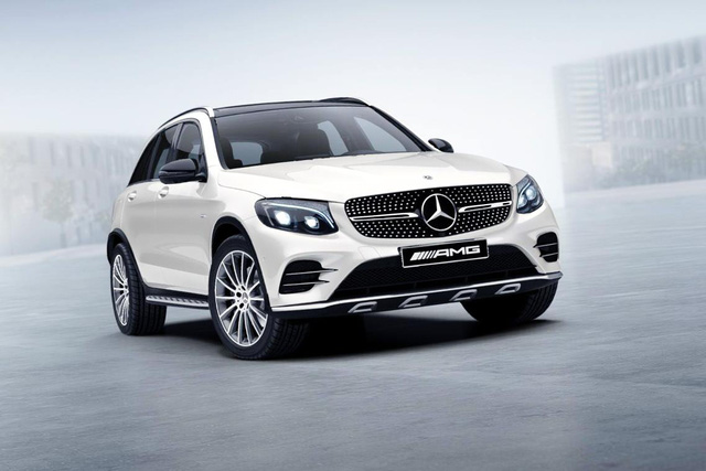 Crossover hiệu suất cao Mercedes-AMG GLC43 có giá 3,6 tỷ Đồng tại Việt Nam - Ảnh 1.