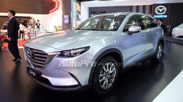 Bắt gặp crossover 7 chỗ Mazda CX-9 2017 trên đường phố Việt Nam - Ảnh 1.