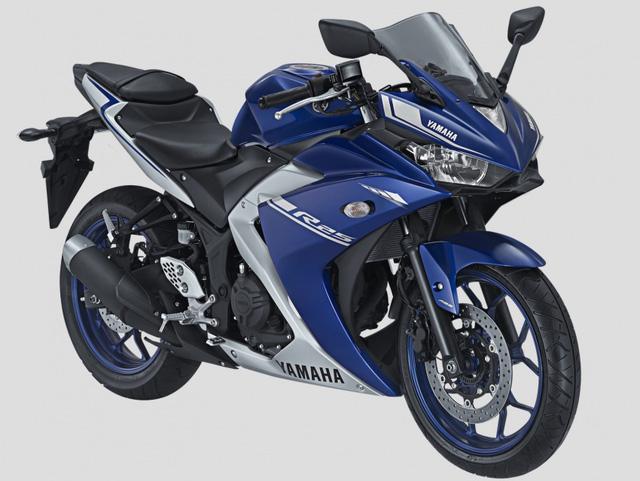 Mô tô thể thao Yamaha R25 2017 có 2 màu sơn mới, giá từ 106 triệu Đồng - Ảnh 2.