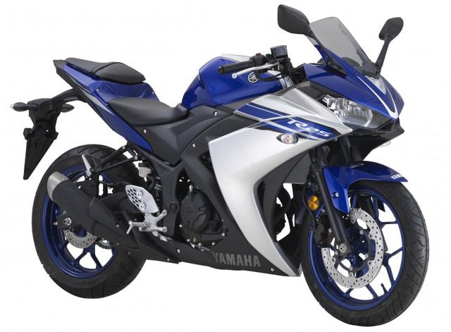 Mô tô thể thao Yamaha R25 2017 có 2 màu sơn mới, giá từ 106 triệu Đồng - Ảnh 4.