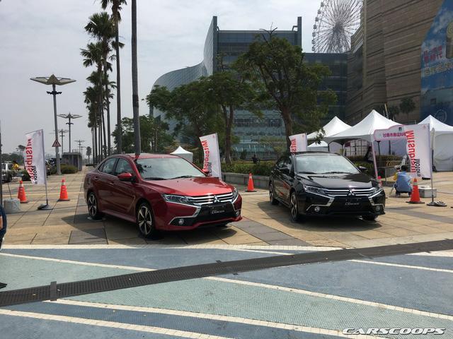 Ngắm Mitsubishi Lancer phiên bản mới dành cho châu Á ngoài đời thực - Ảnh 1.