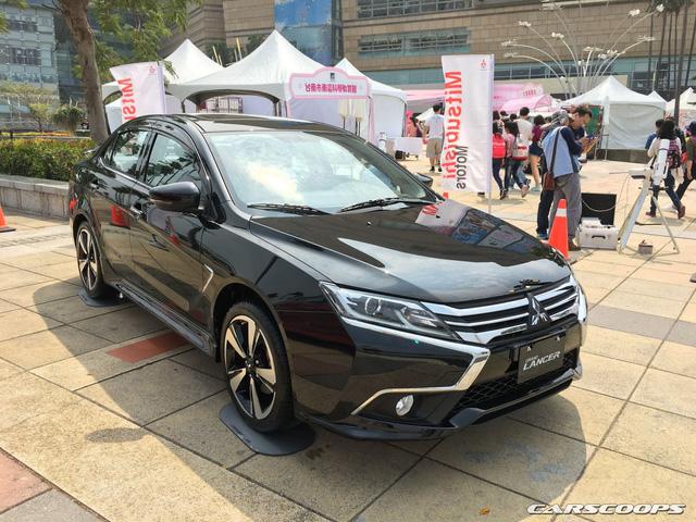 Ngắm Mitsubishi Lancer phiên bản mới dành cho châu Á ngoài đời thực - Ảnh 2.