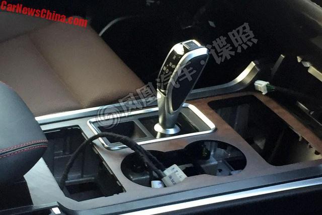SUV hạng sang Hồng Kỳ LS5 lần đầu lộ nội thất - Ảnh 1.