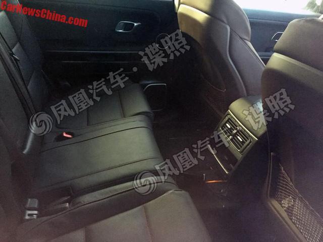 SUV hạng sang Hồng Kỳ LS5 lần đầu lộ nội thất - Ảnh 2.