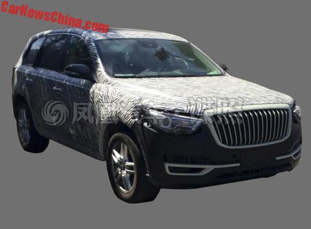 SUV hạng sang Hồng Kỳ LS5 lần đầu lộ nội thất - Ảnh 3.