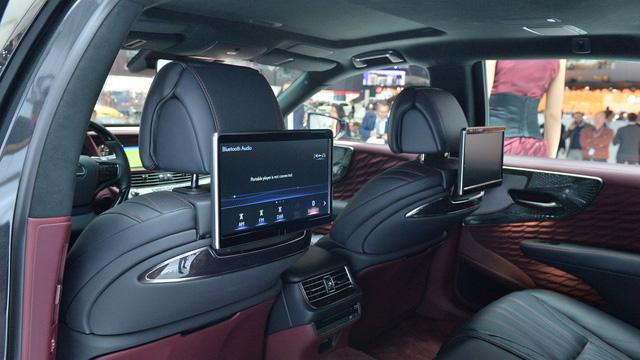 Chiêm ngưỡng vẻ đẹp ngoài đời thực của xe sang cỡ lớn Lexus LS500h 2018 - Ảnh 10.