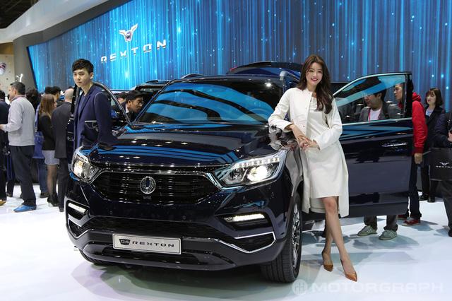 SUV cỡ trung SsangYong Rexton 2018 chính thức trình làng - Ảnh 1.