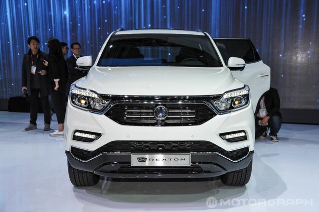 SUV cỡ trung SsangYong Rexton 2018 chính thức trình làng - Ảnh 2.