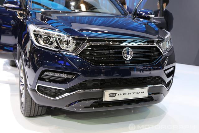 SUV cỡ trung SsangYong Rexton 2018 chính thức trình làng - Ảnh 5.