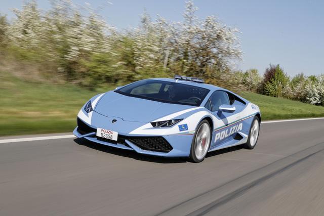 Cảnh sát Ý dùng siêu xe cây nhà, lá vườn Lamborghini Huracan làm ô tô tuần tra - Ảnh 4.