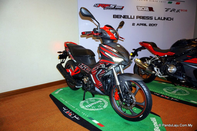 Cận cảnh xe côn tay Benelli RFS150i - đối thủ mới của Yamaha Exciter 150 - Ảnh 1.
