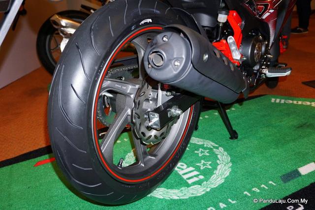 Cận cảnh xe côn tay Benelli RFS150i - đối thủ mới của Yamaha Exciter 150 - Ảnh 8.